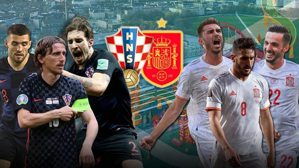 Daftar-Pemain-Spanyol-dan-Kroasia