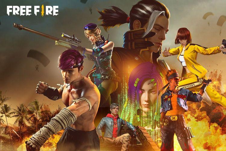 Free-Fire game nomor 1 di indonesia