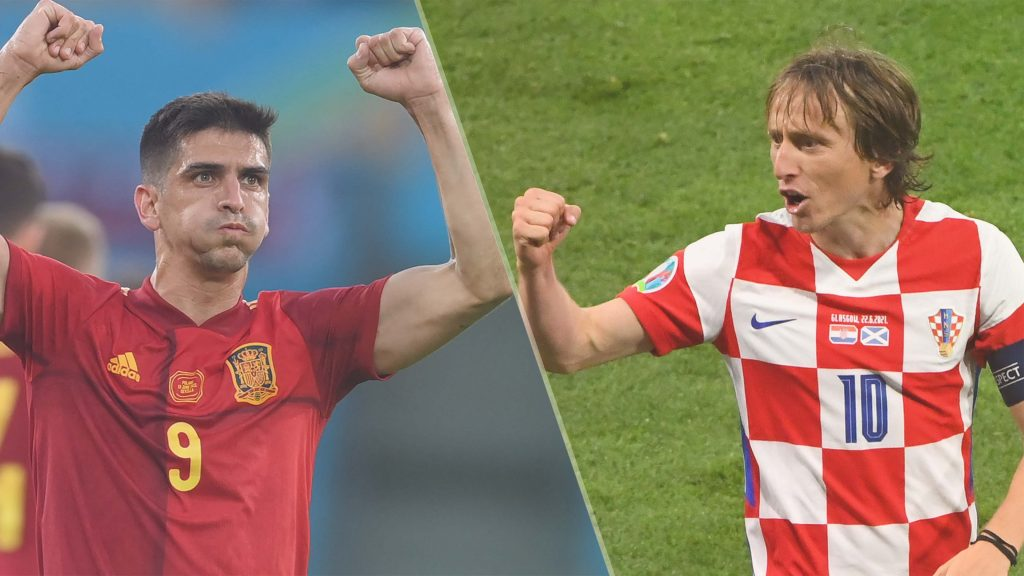 Jalannya-Pertandingan-Spanyol-Vs-Kroasia
