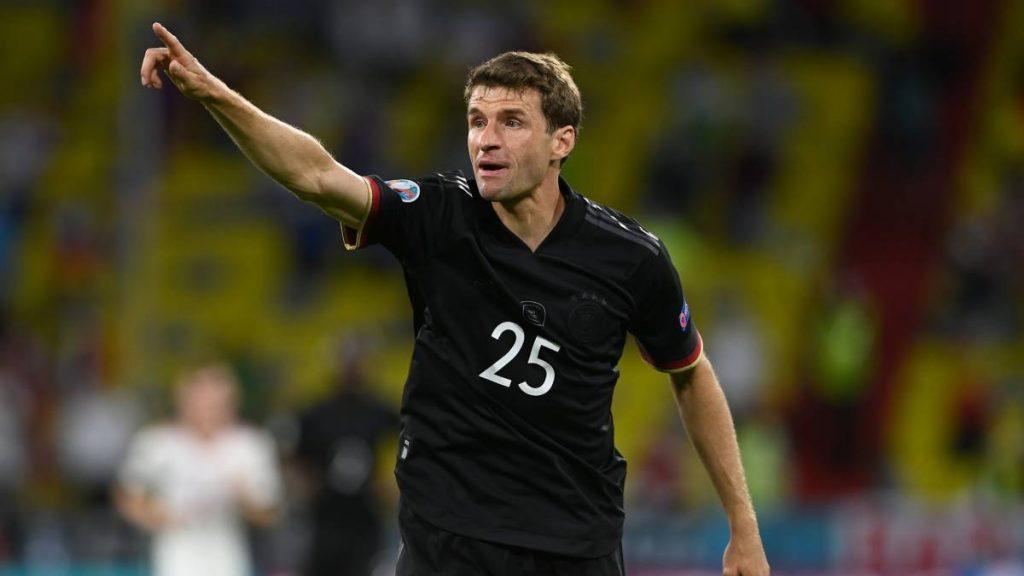 Thomas-Mueller pemain jerman euro 2021