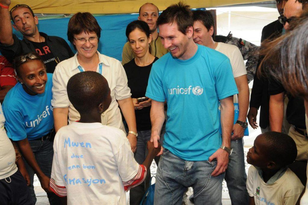 Duta Anak UNICEF Lionel Messi