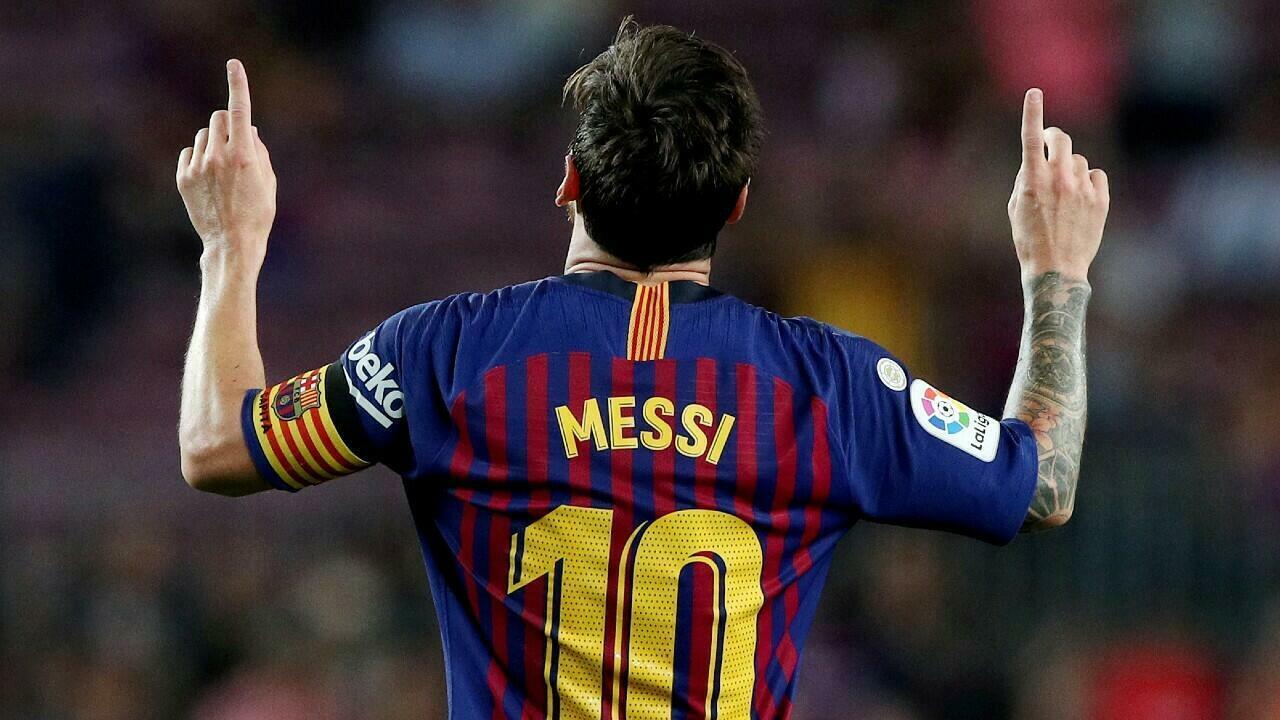 Makna Selebrasi Messi